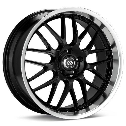 18x7.5 Enkei Lusso (Black) Wheels/Rims 5x110 (469-875-5142BK)