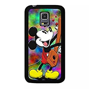 Cute Micky Mouse Cartoon Anime Comics Character Disney for girls Theme Design Hard Plastic Durable Snap on Accessories Protective Case Cover for Samsung Galaxy S5 Mini by ruishername