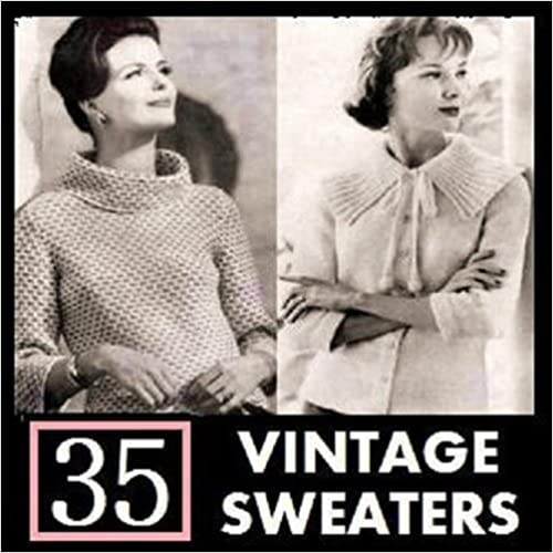 1950s Sewing Patterns | Swing and Wiggle Dresses, Skirts 40s-60s Sweater Knitting Patterns $5.95 AT vintagedancer.com