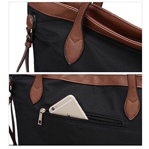 YYW Work Tote Bag - Bolso mochila  para mujer negro