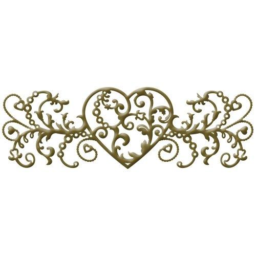 Spellbinders S4-438 Royal Love Die Template