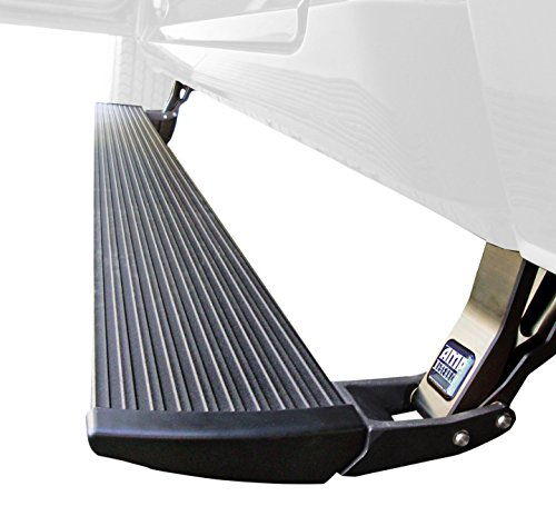 AMP Research 76138-01A PowerStep Electric Running Boards Plug N' Play System for 2013-2015 Ram 1500/2500/3500 (All - Boards Running Electric
