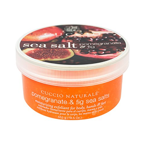 Cuccio Sea Salt, Pomegranate and Fig, 19.5 Ounce