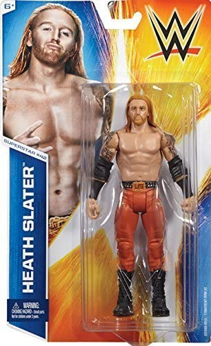 Heath Slater-BASIC SERIES 28-WWE Mattel Wrestling Figure