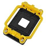 uxcell Plastic AM2 AM3 FM1 FM2 FM2+ Socket CPU Fan Cooler Base Bracket Holder Yellow