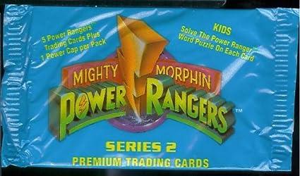 Amazon Com 1994 Mighty Morphin Power Rangers Series 2 Trading Cards
