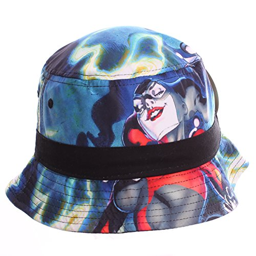 DC Comics Harley Quinn Sublimated Print Bucket Hat