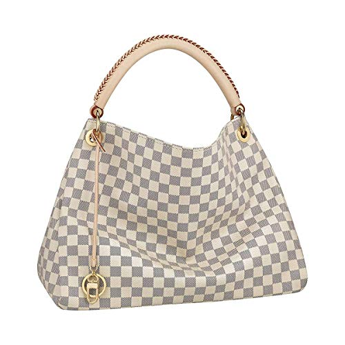 Style Artsy Quality Canvas Damier Azur Color Shoulder Handbag Attractive for Women and Men MM Size Fashion Bag
