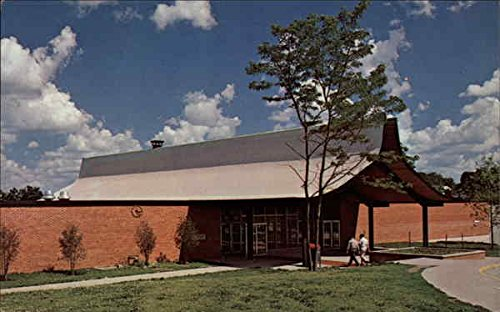The Commons, completed in 1965, Parsons College Fairfield, Iowa Original Vintage - Fairfield Commons