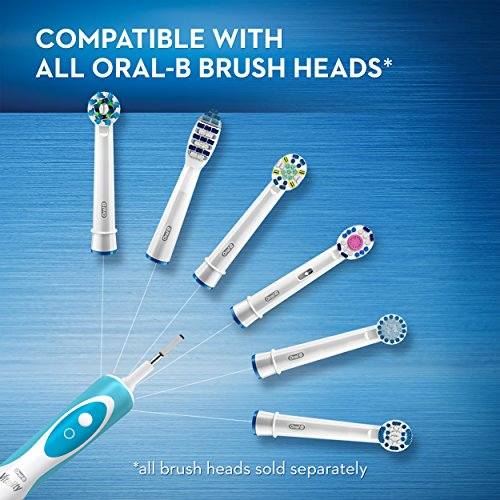 Oral-B Vitality FlossAction Rechargeable Battery Electric Toothbrush with Replacement Brush Head and Automatic Timer, Powered by Braun by Oral B (Image #6)
