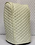 Ninja blender Cover - Quilted Double Faced Cotton, Cream