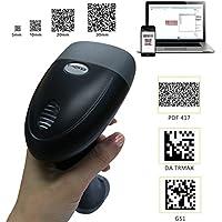 KKMOtech Handheld 1D 2D Imaging QR USB Barcode Scanner CCD Bar Code Reader for Mobile Payment Computer Screen Scanner