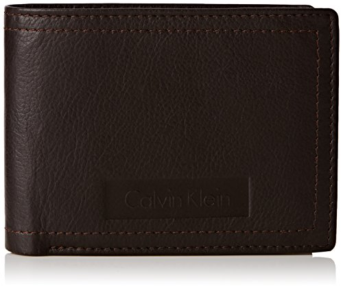 Calvin Klein Jeans Herren Stone 5CC + Coin Tasche, 13x10x2 cm Braun (Turkish Coffie 201 201)