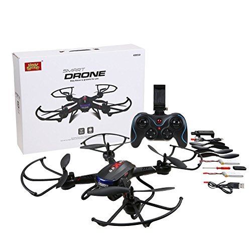 Holy Stone F181W Wifi FPV Drone with 720P Wide-Angle HD Camera Live Video RC Quadcopter with Altitude Hold, Gravity Sensor Function, RTF and Easy to Fly for Beginner, Compatible with VR Headset by Holy Stone (Image #7)