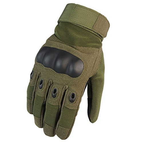提案ステッチ食用手保護具 オートバイ 軍隊 完全な指ミトン 軍事装備 手袋