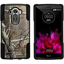 LG G4 Case, Full Body Fusion STRIKE Impact Kickstand Case with Exclusive Illustrations for LG G4 H815, F500L (AT&T, Sprint, T Mobile, Verizon) from MINITURTLE | Includes Clear Screen Protector and Stylus Pen - Hunter Camouflage