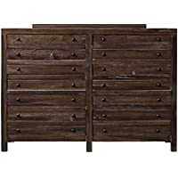 Modus Townsend 8 Drawer Solid Wood Dresser in Java