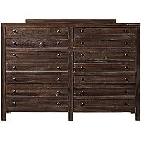 Modus Townsend 8 Drawer Solid Wood Dresser in Java