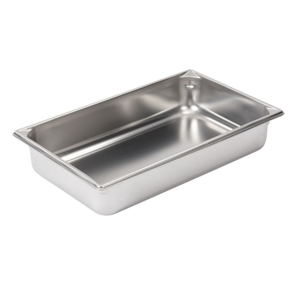 Vollrath (30042) 4'' Deep Super Pan V Stainless Steel Full-Size Steam Table Pan