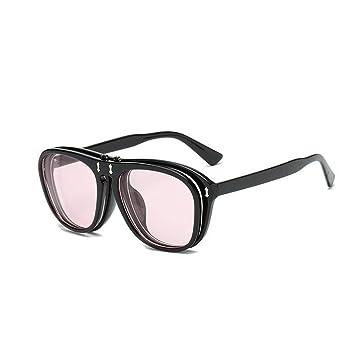 tukis puertas Unisex Vintage Flip de Up Gafas de sol boho ...