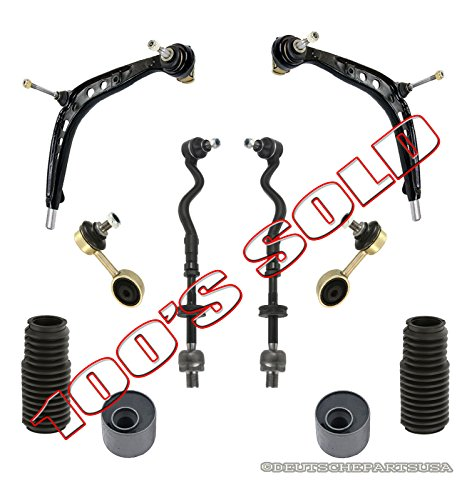 Bushing Control Offset Arm (M3 UPGRADE CONTROL ARM BALL JOINT TIE ROD RODS BOOT OFFSET BUSHING for BMW E36)