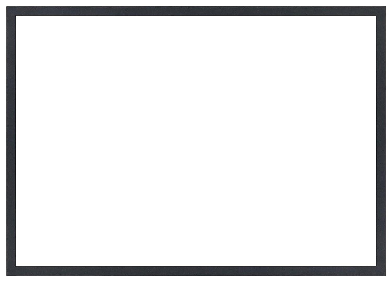 デッサン額、桜平型 ブラック B2 729×516 アクリル 受注生産 B01FCWIX22 58×79×3.5cm|ブラック ブラック 58×79×3.5cm