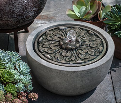Campania International FT-264-EM M-Series Medallion Fountain, English Moss (English Garden Medallions)