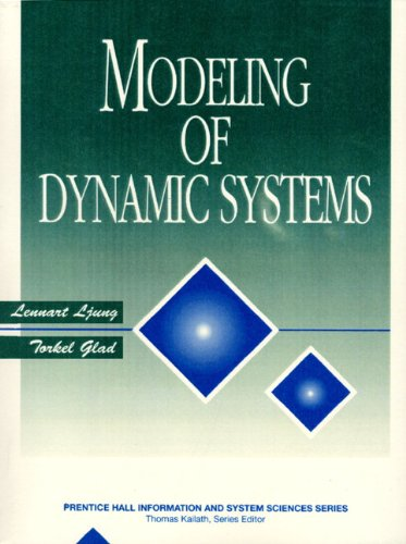 Modeling Of Dynamic Systems  Prentice Hall Information And System Sciences Series