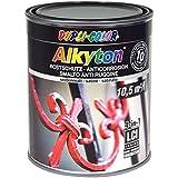 Dupli Color 314063 RAL 9005-DC-Alkyton Vernici, 750 ml, Opaca, Effetto Seta