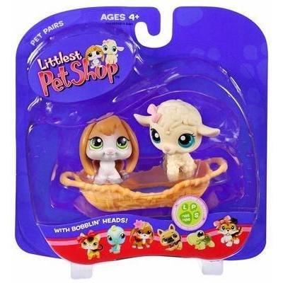 Lamb & Bunny Bunny Bunny Pet Pairs - Littlest Pet Shop  185  186 by Littlest Pet Shop 260a2d