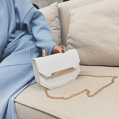 Piel preppy GB 33E Blanco estilo Mujer Sintética de Bags Mounter gxpYqUPnp