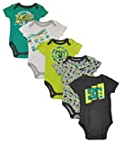 DC Apparel Baby Boys' 5 Pack Bodysuits