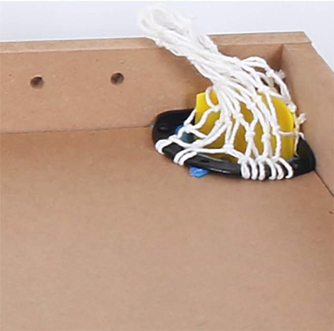 WJMLS 4-en-1 Mesa de Juegos para niños Actividad en el Interior con Mesa de Ping-Pong Billar futbolín: Amazon.es: Hogar