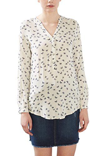 Multicolore Femme Off Esprit White Blouse 8xfPqAYE