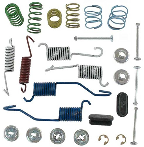 Chevy Chevelle Disc Brake - ACDelco 18K564 Professional Rear Drum Brake Spring Kit with Springs, Pins, Retainers, Washers, and Caps