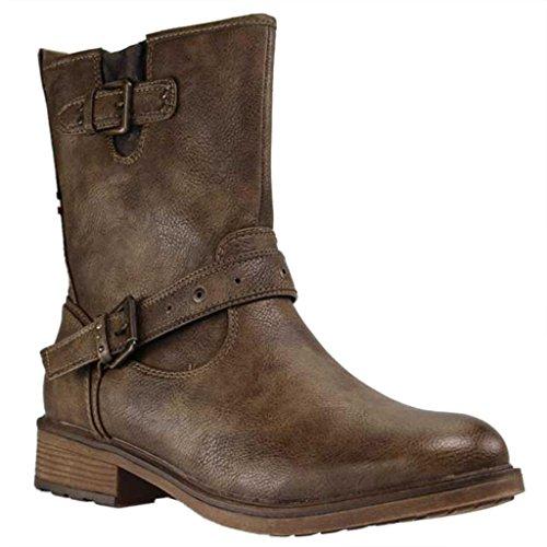 Mustang Damen 1264-602-306 Stiefel Braun (Kaffee 306)