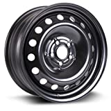Steel Rim 16X6.5, 5X100, 57.1, +44, black finish (MULTI FITMENT APPLICATION) X99121N