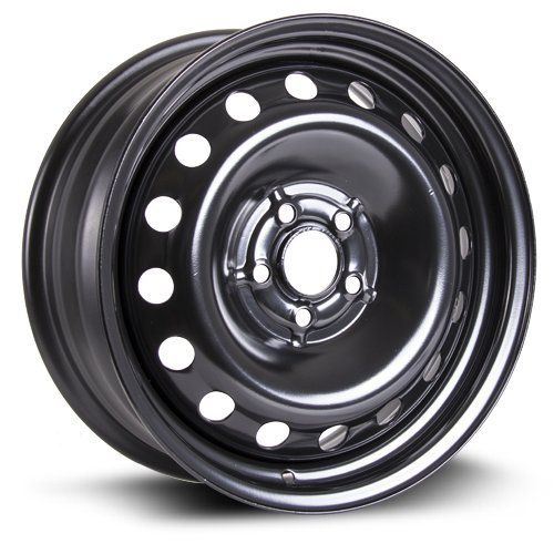 RTX, Steel Rim, New Aftermarket Wheel, 16X6.5, 5X100, 57.1, 44, black finish X99121N