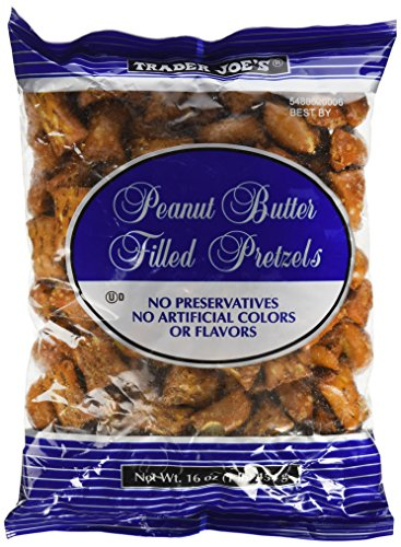 - Trader Joe's Peanut Butter Filled Pretzels (2 pk)