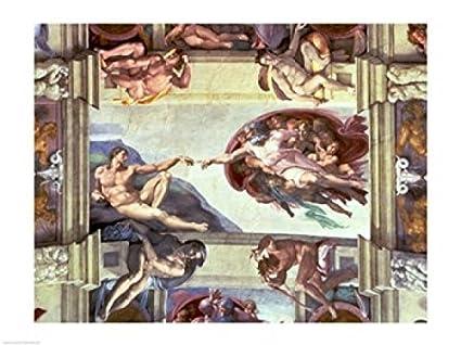 Amazon Com Sistine Chapel Ceiling Creation Of Adam 1510