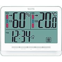 TANITA 电子温湿度计 【5档温度、湿度的舒适等级提醒/置物两用款】 TT-538