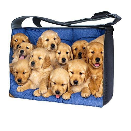 Ektor - Bolso al hombro para mujer Puppies Family