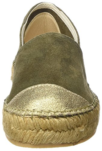 largest supplier cheap price Macarena Women's Elis128-Am Espadrilles Green (Kaki/Oro Camuflaje Metal) 2015 new cheap online tumblr cheap online clearance ebay top quality online FOrFxg