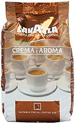 Lavazza Crema E Aroma Coffee Beans, Pack of 2, 2 x 1000g