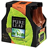 Pure Leaf Iced Tea, Peach, Real Brewed Tea, 0 Calories, 18.5 Ounce Bottles (Pack of 6)