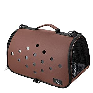 YD Pet Travel Carrier Shoulder Pet Backpack Pet Outing Package Dog Bag Cat Cage Cat Bag Outgoing Portable Dog Bag… Click on image for further info.