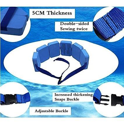 dometool Reino Unido formación ayuda cintura piscina flotante para nadar flotante de espuma EVA – Cinturón