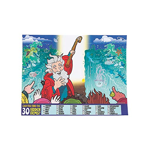 Fun Express - Parting of The Red Sea Image Hunt - Stationery - Activity Books - Activity Books - 50 Pieces]()