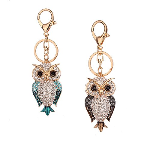 Lady Women Vintage Silver Owl Pendant Necklace Best Gift for Xmas (Silver) ()