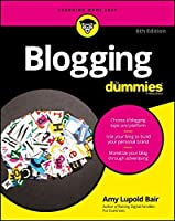 Blogging For Dummies, 6th Edition Front Cover